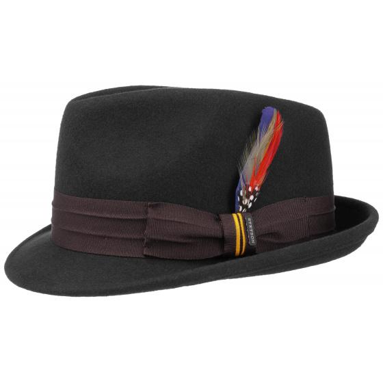 Chapeau Trilby noir Haledon Stetson