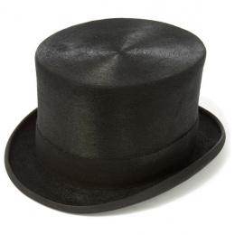 Chapeau Haut de Forme Mélusine Noir - Traclet