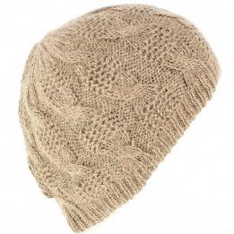 Bonnet Bonnet Angora Apollonia Beige- Traclet