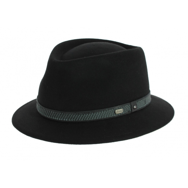 Chapeau Traveller Touring Noir- Crambes