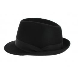 Black Bart Trilby Hat - Crambes