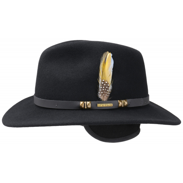 Michigan Traveller vitafelt Black hat - Stetson