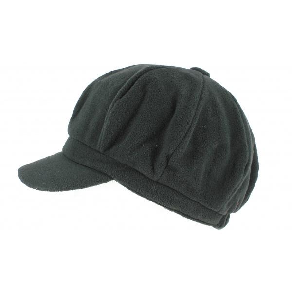 Black polar gavroche cap