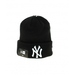 Bonnet à Revers Noir Yankees Enfants- New Era