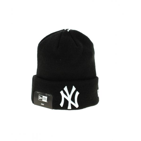 be7739ca594 Bonnet à Revers Noir Yankees Enfants- New Era - Chapeau Traclet