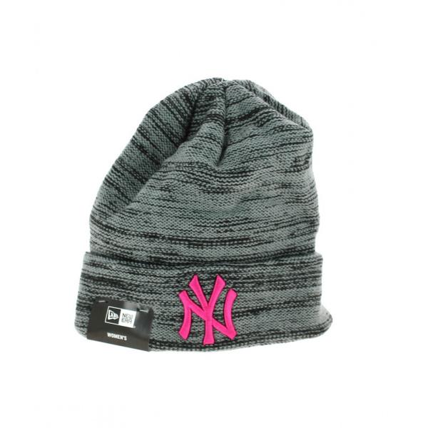 Grey and Pink Marl Reversed Cap - New Era