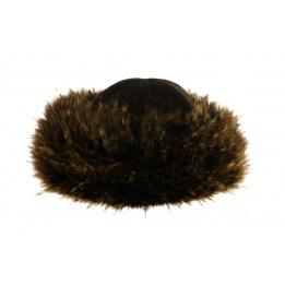 Toque lady faux fur: