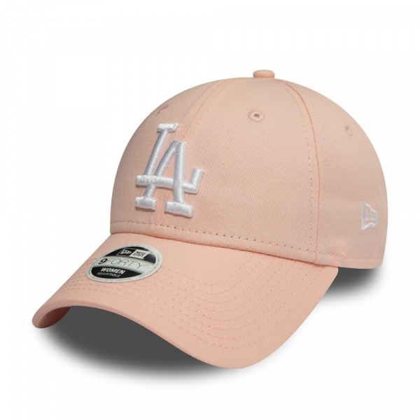 Casquette Los Angeles Dodgers Essential Rose Enfant- New Era