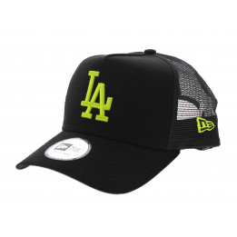 Casquette Los Angeles Dodgers Essential Noir/Fluo- New Era