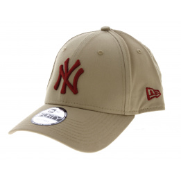 Casquette League Essential 9forty NY Yankees Camel-New Era