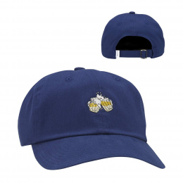 Casquette Snapback The Jones Coton Bleue- Coal