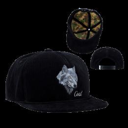 Casquette visière plate - The Wilderness - Coal