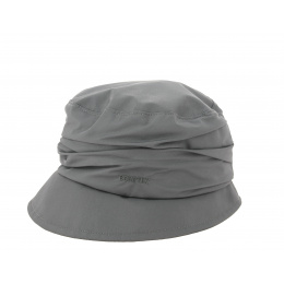 Chapeau Bob Edda de pluie gris- Gore Tex