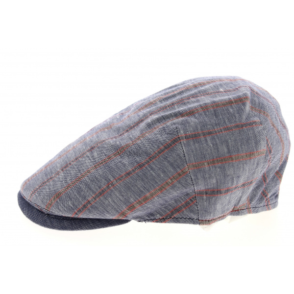 Casquette Plate Lin & Coton- Traclet