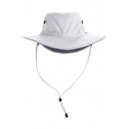 Chapeau Leo Anti-UV 50+ Blanc/Gris- Coolibar