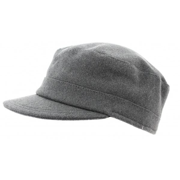 Casquette Army Grise Cockney- Traclet