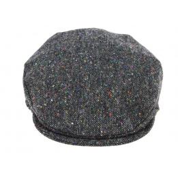 Casquette Plate Antrim Laine Vierge Grise- Hanna Hats