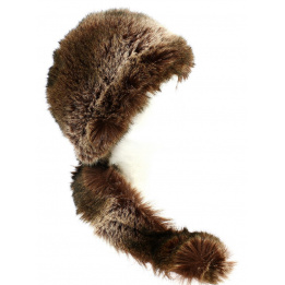 Toque Davy Crockett Marron Fausse Fourrure- Traclet