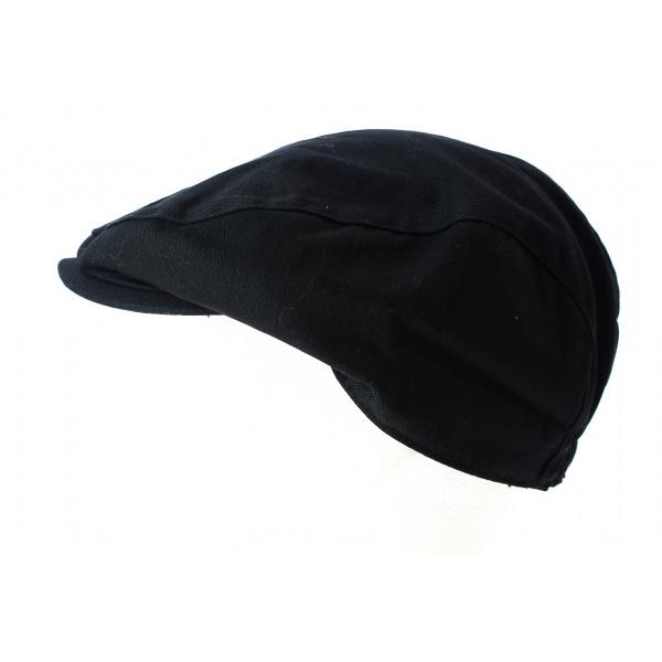 Casquette Plate Plâtrier Coton Noire- Result Headwear