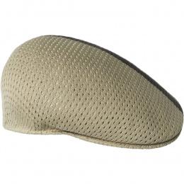 Casquette Plate Mesh-Stripe 504 Beige - Kangol