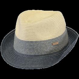 Chapeau Trilby Patrol Paille Papier Bleu- Barts
