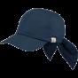 Casquette Wupper Bleu Marine Coton- Barts