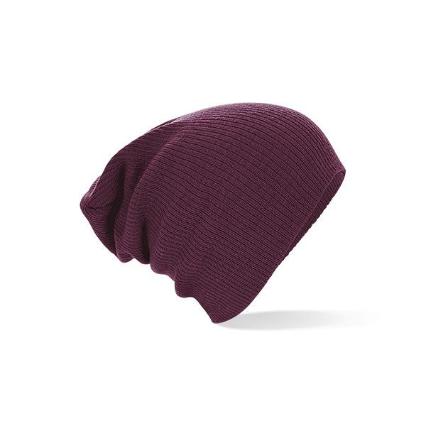Bonnet Oversize Acrylique Bordeaux- Beechfield