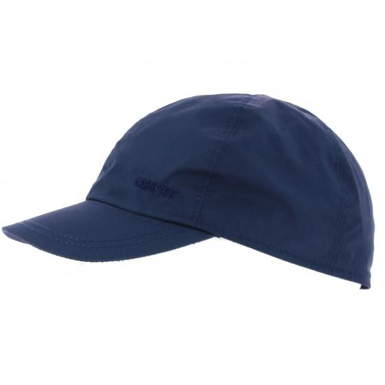 Blue waterproof cap - Gore Tex