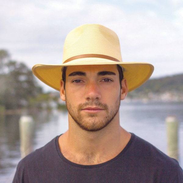 Chapeau Traveller Kristy Naturel - Emthunzini Hats