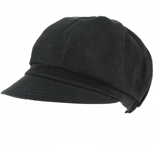 Cap Gavroche Paola black - Traclet