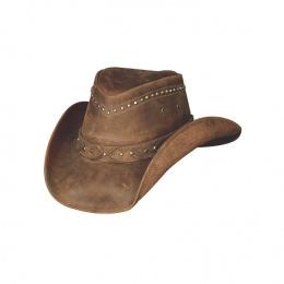 Chapeau Cowboy Cuir  Burnt dust - Bullhide