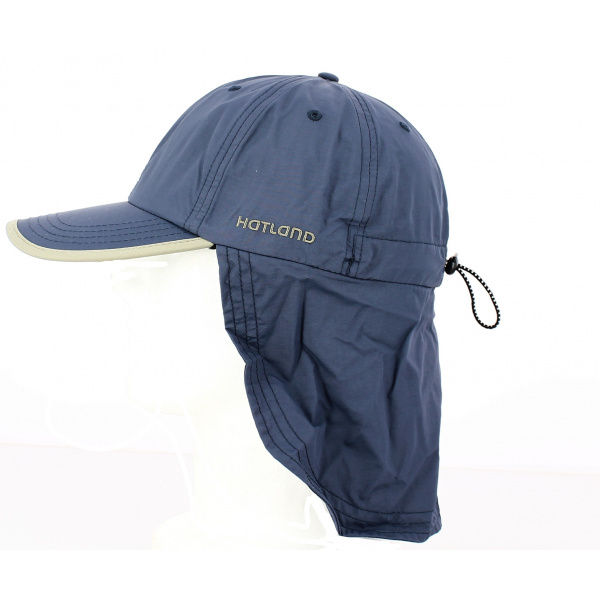 Stone neck cap by Hatland blue