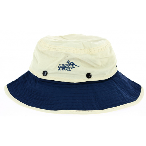 Chapeau Traveller Jungle Anti-Uv Nylon Bicolore - Aussie Apparel