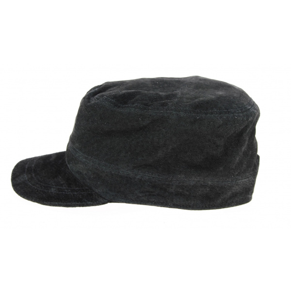 Casquette Army Rooten Cuir Noir - Aussie Apparel