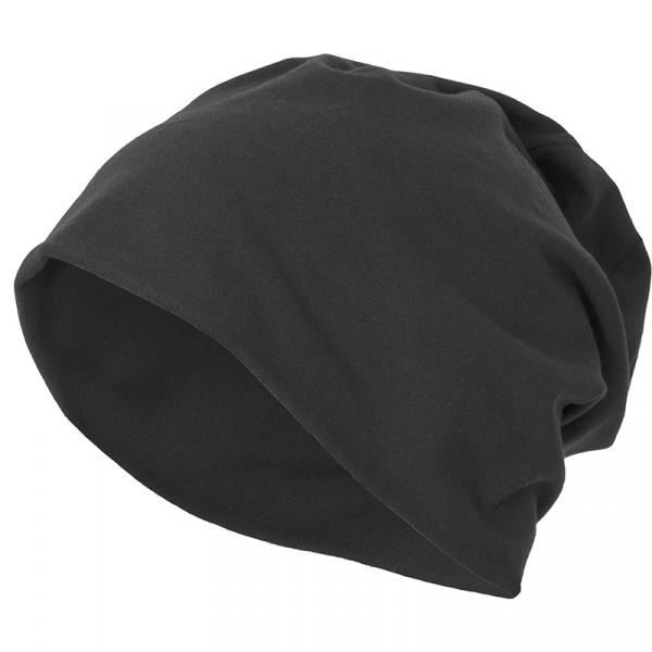 Bonnet Long Jersey Noir - Traclet