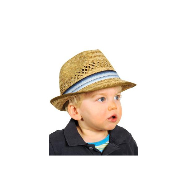 Chapeau Trilby Théo Paille Enfant - Traclet