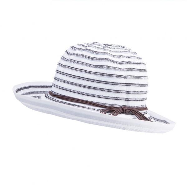 Chapeau Breton Blanc & Noir- Emthunzini Hats