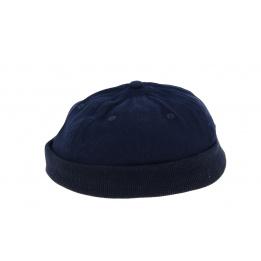 Miki Beanie Cotton Navy- Traclet
