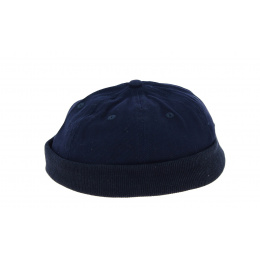 Miki Beanie Cotton Navy- Traclet