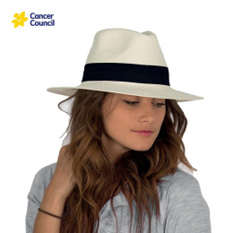 Chapeau Fedora Suzanne Fibres Naturelles - Rigon Headwear