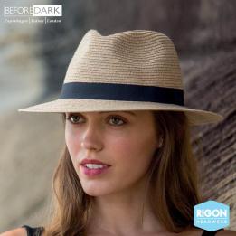 Chapeau Fedora Pana-Mate Fibres Naturelles Naturel- Rigon Headwear