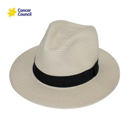 Chapeau Traveller Lightweight Ivoire- Rigon Headwear