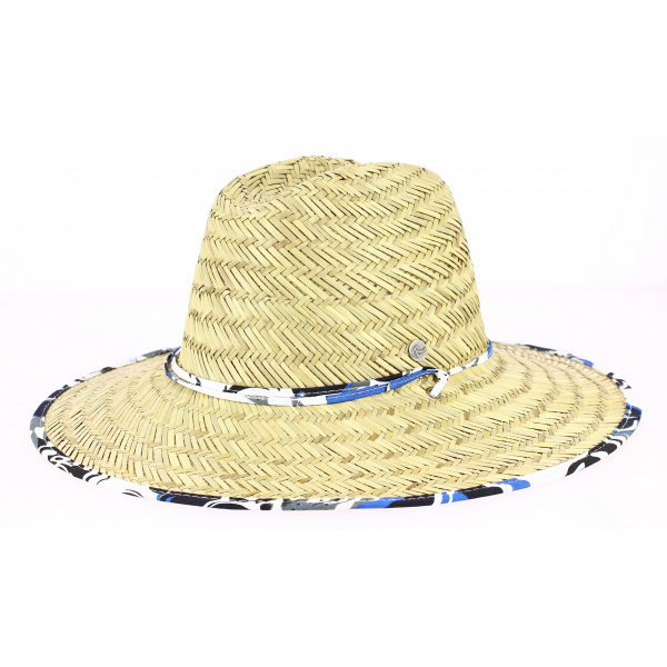 Chapeau Traveller Surf Paille Naturelle - Rigon Headwear