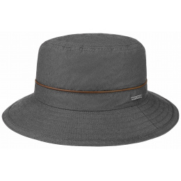 Chapeau Bucket Waxed Coton Anthracite- Stetson