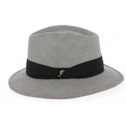 Chapeau Fedora Ocana Panama Gris- Flechet