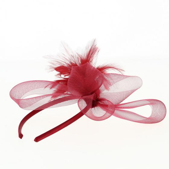 Abelle - serre tête rouge