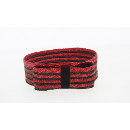 Bandeau de cérémonie Noir & Rouge- Traclet