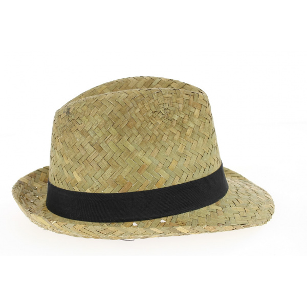 Chapeau Trilby Tropical Paille- Traclet