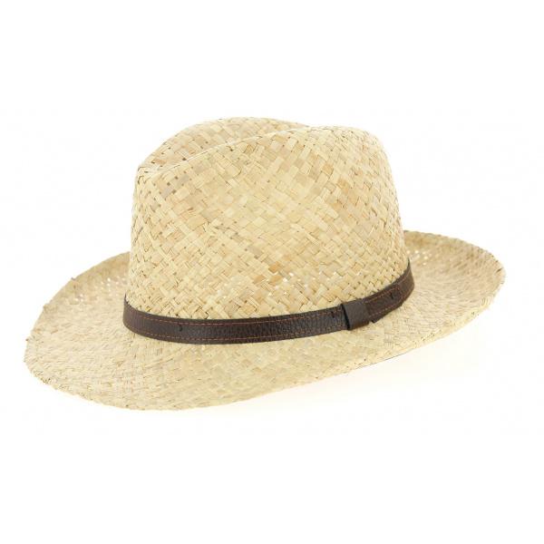 Chapeau Fedora Aversa Paille- Traclet