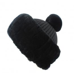 Chapeau en Feutre Fedora Noir- Traclet